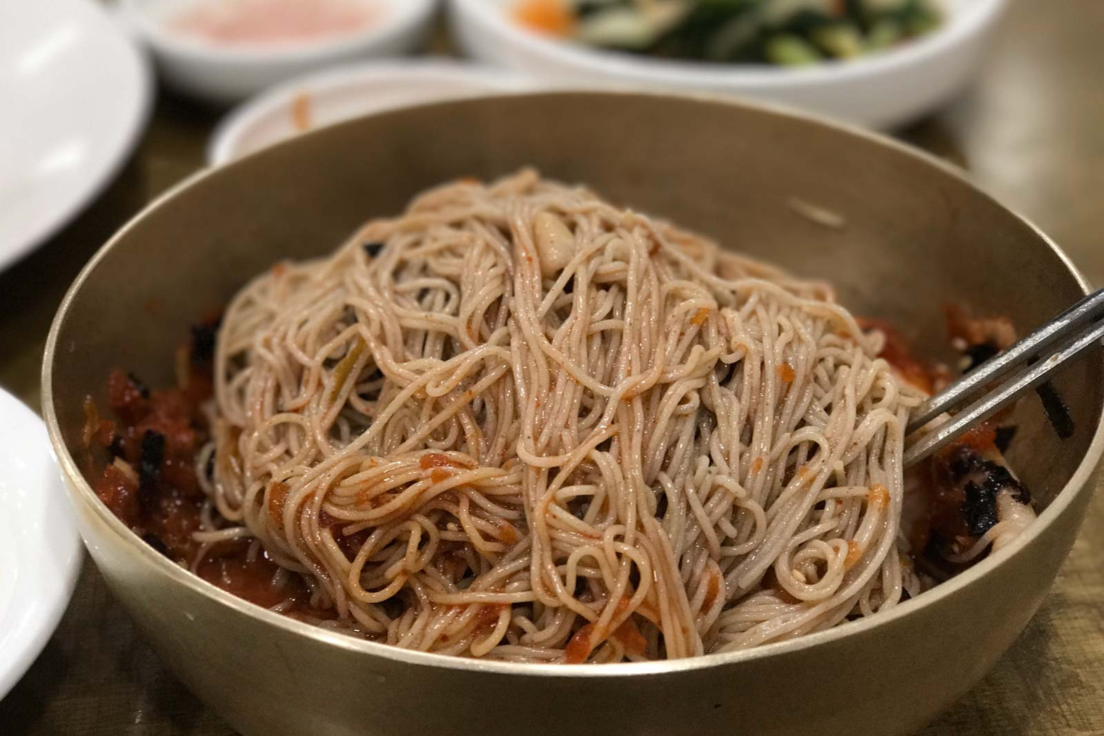 how to cook buckwheat noodles